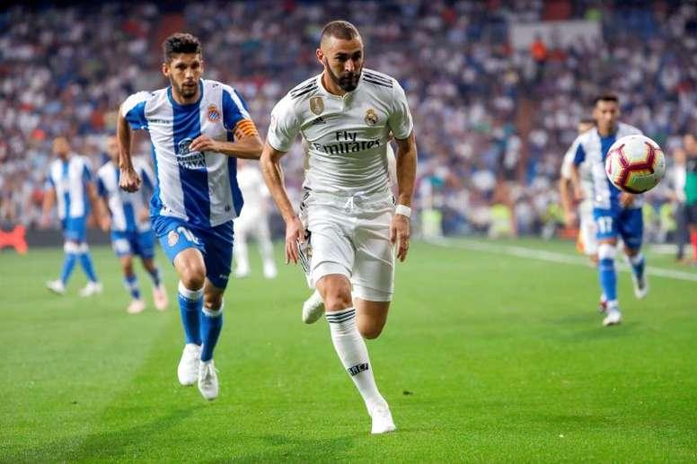 El Madrid recibe al Espanyol con el 'Clásico' muy presente. EFE