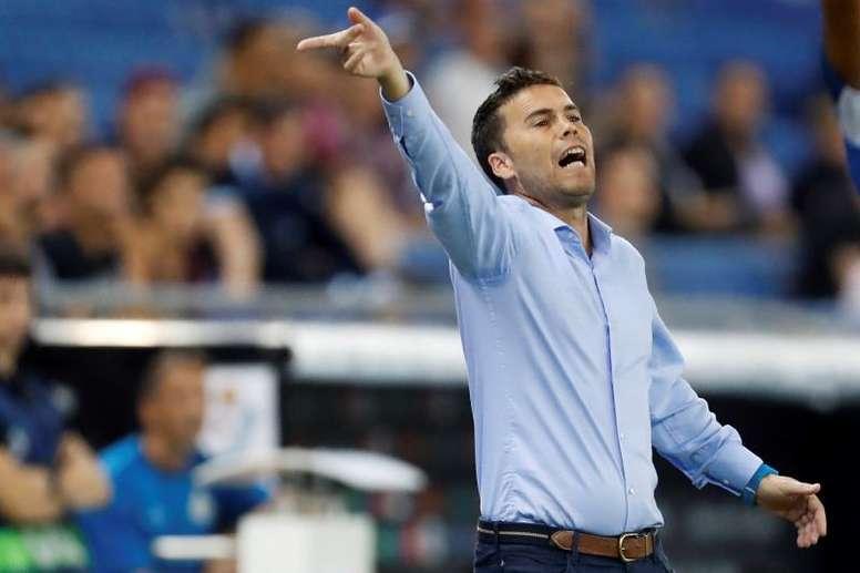 A Rubi se le da bien el Valencia. EFE