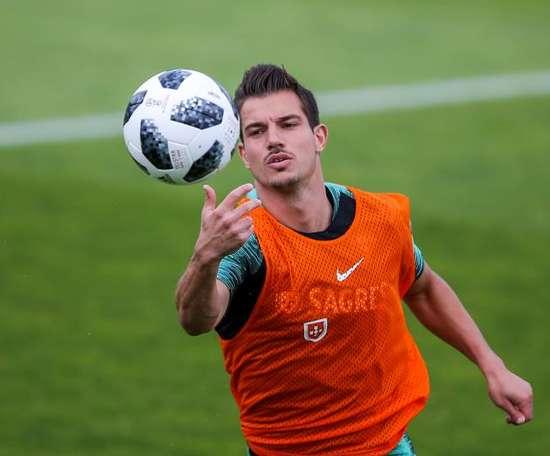 O Sporting pensa em Cedric Soares para a próxima temporada. EFE