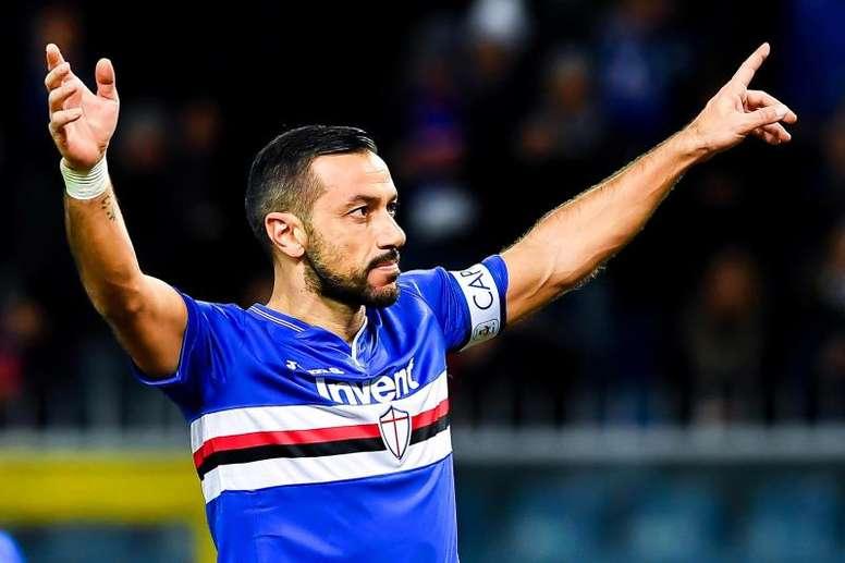 Quagliarella lleva 17 goles esta temporada. EFE/EPA