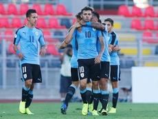 La Selección Uruguaya pasó como tercera de grupo. EFE