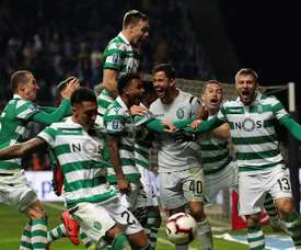 O Sporting venceu no Marcolino Castro. EFE