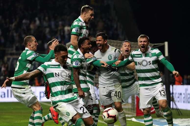 El Sporting ganó por demérito de su rival. EFE/Archivo