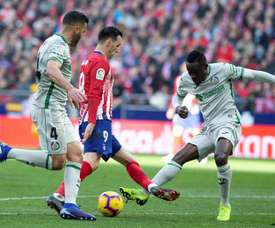Getafe don't want to sell Djené. EFE
