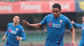 Muriel, de nuevo importante con la Fiorentina. EFE