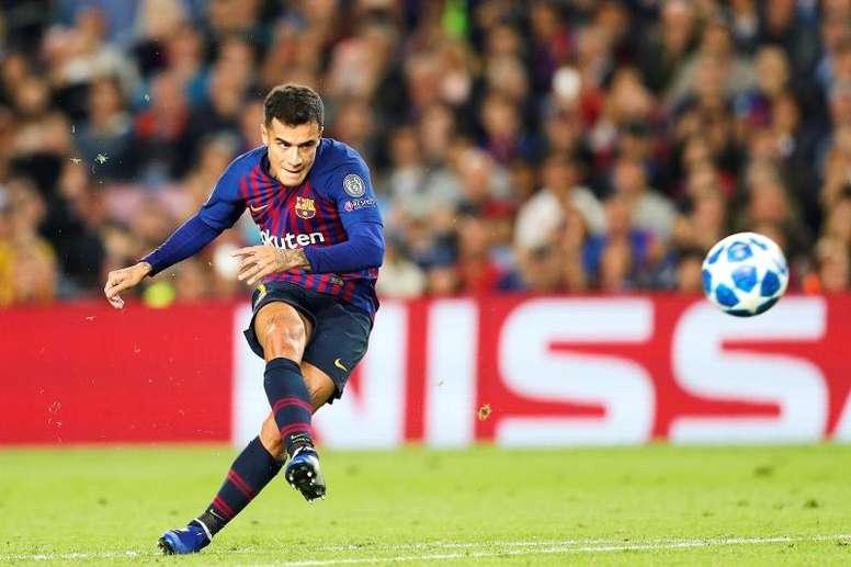 Le Barça prend la défense de Coutinho. EFE