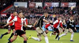 El Feyenoord tumba al Ajax. EFE