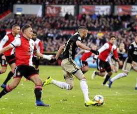 O Feyenoord derruba o Ajax. EFE/EPA