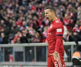 El Bayern resurgió en la segunda mitad. EFE