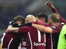 El Torino dejó con el molde al Inter de Milán. EFE