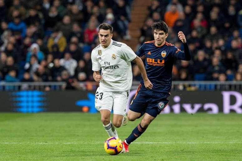 Reguilón, un homme clé au Real Madrid. EFE