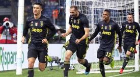 Buffon compara a Cristiano y Chiellini. EFE