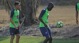 El paraguayo Moreira hizo el gol de la victoria. EFE/Archivo