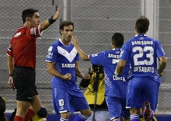 Vélez se puso quinto en la tabla. EFE