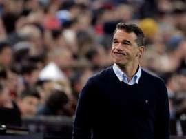 La défaite lors du derby face à Valence aura coûté très cher à Luis García. EFE