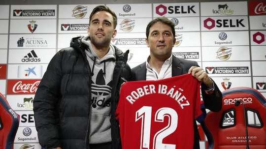 Rober Ibáñez regresa a su antiguo club. EFE