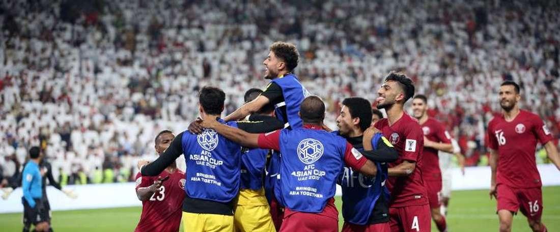 Catar ya es historia viva de la Copa Asia. EFE