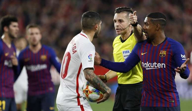 Malcom is wanted by Unai Emery at Arsenal. EFE