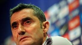 Valverde admitió que Denis se puede ir. EFE
