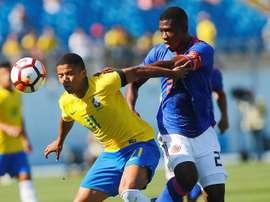 Marquinhos Cipriano pode ser emprestado ao Sporting. EFE