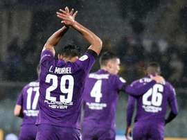 Luis Muriel is enjoying his time at Fiorentina. EFE