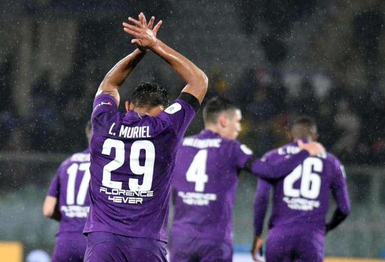 Muriel voudrait rester à la Fiorentina. EFE