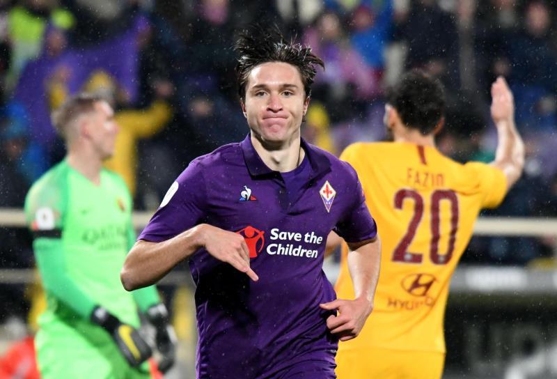 La Fiorentina humilla a la Roma en Copa Italia
