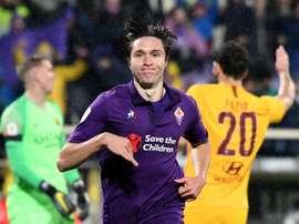 Chiesa pode conseguir um grande contrato com a Fiorentina. EFE