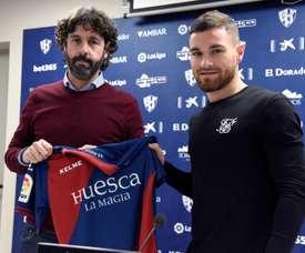 Javi Galán llega a Huesca con ganas de pelear. EFE