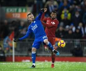 Le joueur de Leicester signe une superbe saison. EFE
