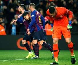 Barcelona está nas meias da Taça do Rei. EFE