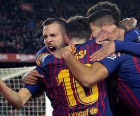 Les remplaçants du Barça veulent se faire de la place. EFE
