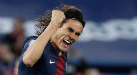 Este lunes podría cerrarse el acuerdo Atlético-Cavani. EFE