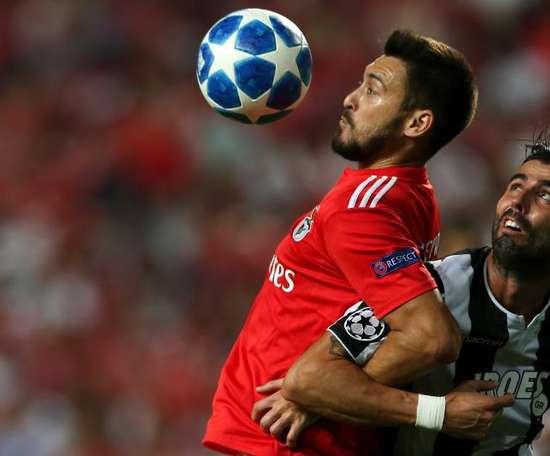 Benfica a payé quatre millions pour Ferreyra. EFE
