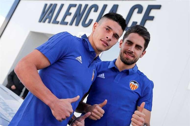 Roncaglia no podrá jugar la Europa League. EFE