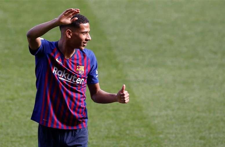 El FC Barcelona muestra su apoyo a las víctimas. EFE