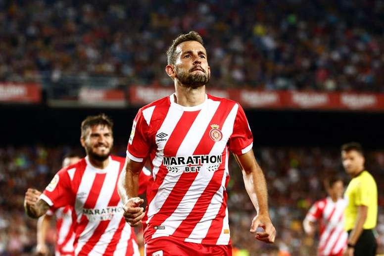 L'Espanyol pense à Stuani pour remplacer Borja Iglesias. EFE