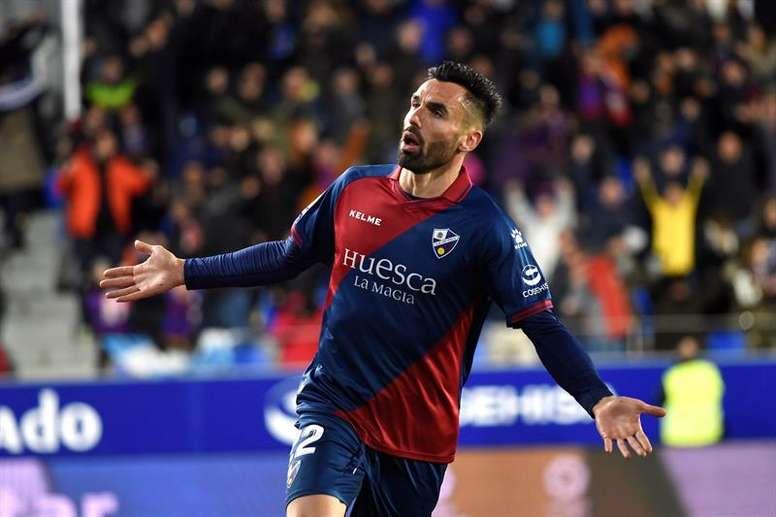 Enric Gallego ha caído de pie en el Huesca. EFE