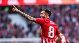 Le Barça, disposé à payer 110 millions pour Saúl. EFE