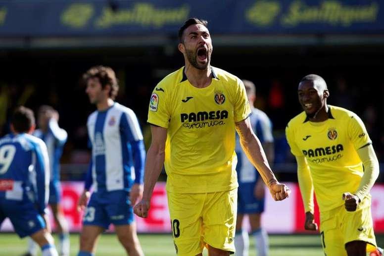 Iborra vuelve a encontrarse con el Villarreal. EFE
