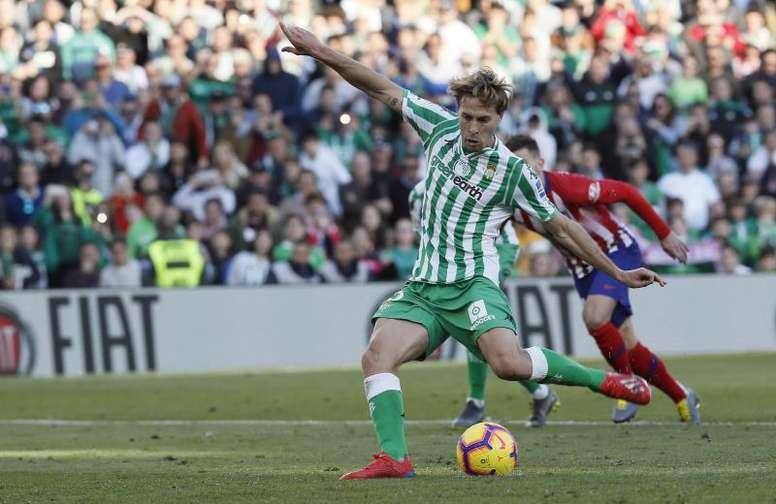 Sergio Canales está recuperando su mejor versión en el Betis. EFE/Archivo