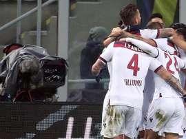 El Inter volvió a defraudar en casa. EFE