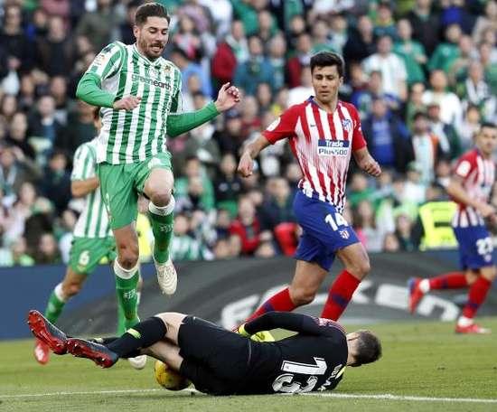 García pourrait jouer dans un autre club. EFE