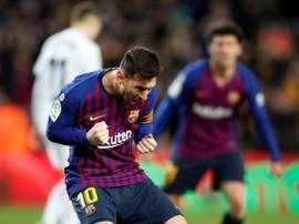 Match spécial pour Messi. EFE