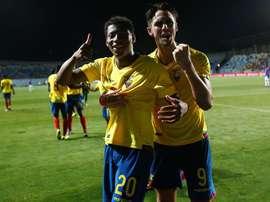 Le FC Barcelone revient à la charge pour Gonzalo Plata. efe