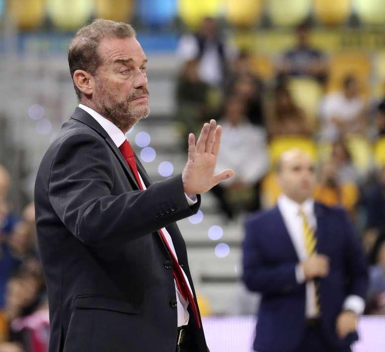 El entrenador del Fuenlabrada, Néstor García. EFE/Archivo