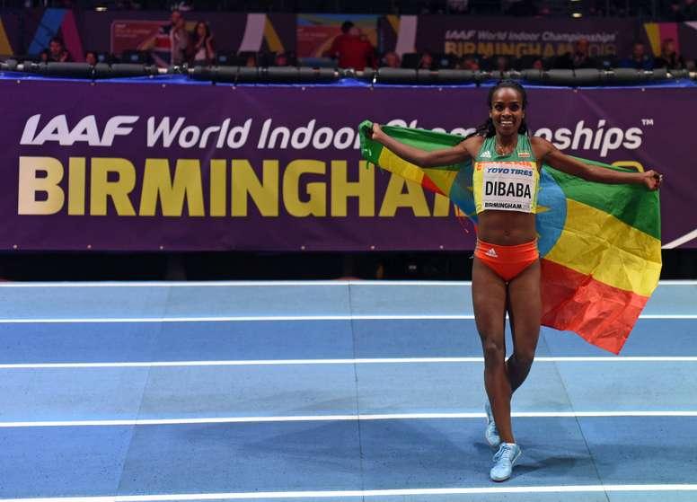 La mediofondista etíope Genzebe Dibaba. EFE/Archivo