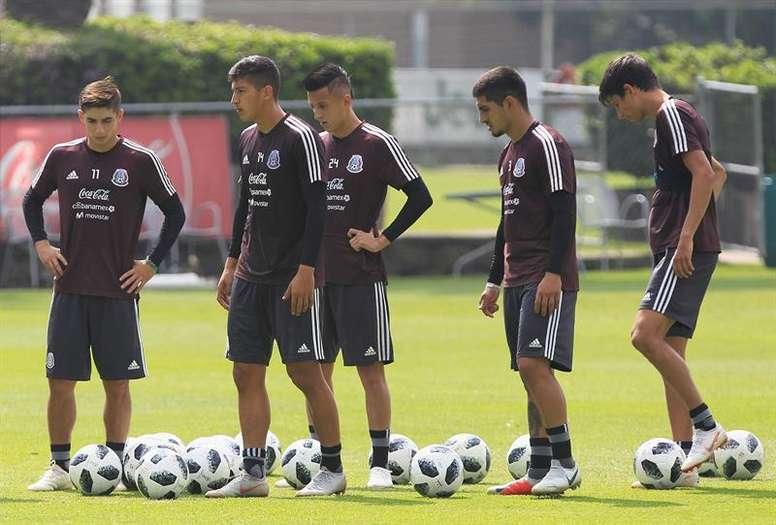 México ya piensa en la Copa Oro. EFE