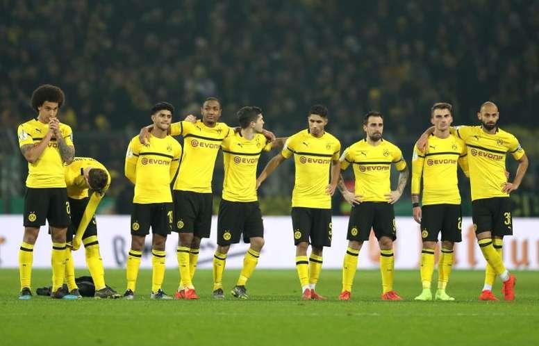 Mes trágico del Borussia Dortmund. EFE