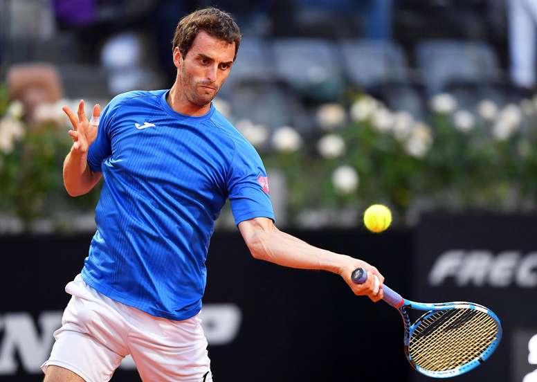 En la imagen, el tenista español Albert Ramos-Viñolas. EFE/Archivo